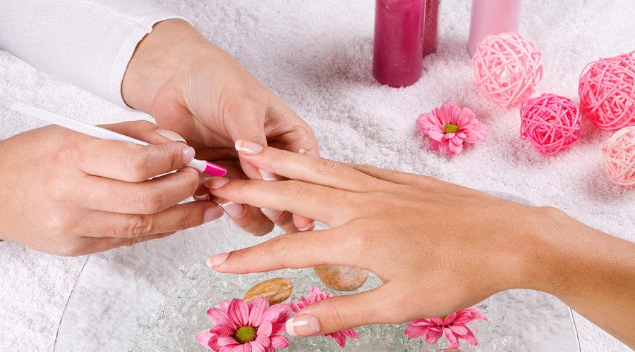 Nail treatments at Bellisima salon